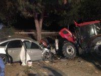 Mevsimlik işçilerin konakladığı alana otomobil daldı: 2 ölü
