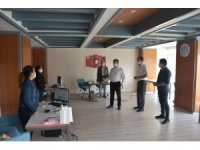 Kaymakam Şahin'den Sosyal Yardımlaşma ve Dayanışma Vakfı'na ziyaret