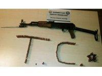 Gaziantep'te ruhsatsız uzun namlulu silah ele geçirildi
