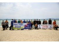 Büyükşehir belediyesi Didim'de mavi bayraklı sahilleri denetledi