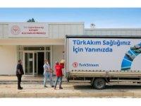 TürkAkım, Kıyıköy halkına ve bölgedeki hastanelere sağlık malzemesi bağışladı