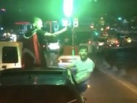 Drift atan, ateş eden asker konvoyuna 23 bin lira ceza