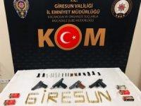 Giresun'da silah kaçakçılarına yönelik operasyonda 2 tutuklama