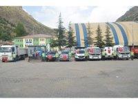 Belediyeyi HDP'nin elinden aldı, boş kalan otopark araçlarla doldu