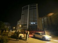 Ankara'da zemininde çatlak oluşan 18 katlı bina boşaltıld