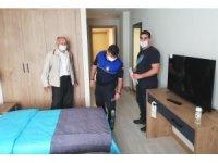 Altınova'da otel ve pansiyonlara denetim