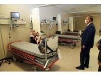 Yozgat Valisi Polat'tan Şehir Hastanesine ziyaret