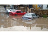 Yozgat'ta yağmur ve dolu hayatı olumsuz etkiledi