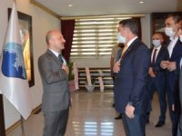 Milletvekili Çelebi'den Vali Varol'a hayırlı olsun ziyareti