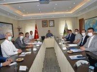 Vali Sarıibrahim başkanlığında istişare toplantısı düzenlendi