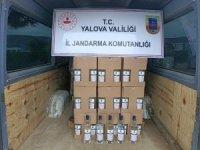 Yalova'da bin 500 litre kaçak etil alkol ele geçirildi