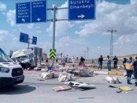 Konya'da tarım işçilerini taşıyan minibüs ile tır çarpıştı: 6 ölü