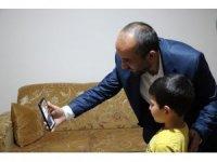 Cumhurbaşkanı Yardımcısı Oktay, 7 yaşındaki Burak Mert Baştürk'ü telefonla aradı