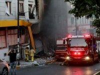 İstanbul'da tekstil atölyesinde patlama: 1 ölü, 10 yaralı
