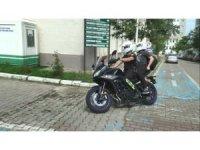 Giresun'da YKS öncesi kimliğini evde unutan öğrencinin imdadına motorize polis ekipleri yetişti