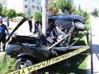 Kızlarını YKS'ye girecekleri okula götüren sürücünün otomobili kaza yaptı: 5 yaralı