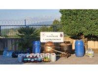 Yalova'da 5 bin 500 litre sahte içki ele geçirildi