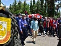 Şehit Piyade Teğmen Yunus Gül Adıyaman'da son yolculuğuna uğurlandı