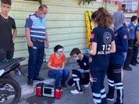 Sınav yolunda kaza: Yaralı öğrenci hastaneye değil sınava gitti
