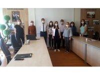 Öğrencilere E-Mezuniyet töreni