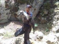 Tokat'ta kayalıklarda mahsur kalan kuzu (AFAD) ekiplerince kurtarıldı