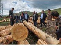 Bölge Müdürü Oktay Ayatay Ardahan Orman İşletme Müdürlüğünü ziyaret etti