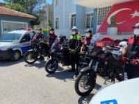 Afyonkarahisar polisine 4 yeni motosiklet