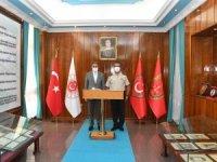 Vali Şıldak Askeri komutanları ziyaret etti