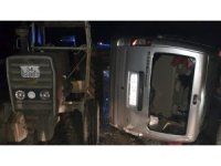 Kırklareli'de trafik kazası: 1 yaralı