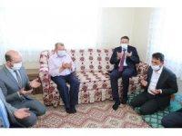 Afrin şehidi Veysel Temel'in ailesine ziyaret