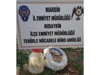 Mardin'de menfeze gizlenmiş vaziyette patlayıcı madde ele geçirildi