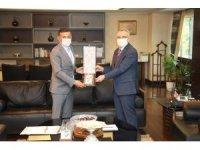 Erbaş, Ağbal'dan iki proje için destek istedi