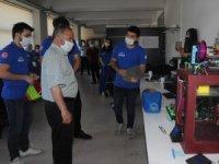 Çufalı, Üniversite Bilim Takımlarından Neta Aerospace'yi ziyaret etti