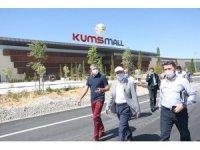 Başkan Çolakbayrakdar KUMSMALL'ı ziyaret etti