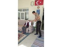 Tomarza'da Cumhurbaşkanı'nın gönderdiği hediyeler sahiplerine teslim edildi