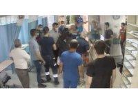 Araba çarptı diye ihbarda bulundu, hastanede doktora saldırdı