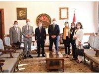 Devrekani Yerel Eylem Grubundan Vali Çakır'a ziyaret