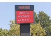 Aydın'da termometreler 52 dereceyi gördü