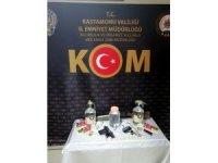 Kastamonu'da sahte içki operasyonu: 1 gözaltı