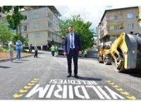 Yıldırım Belediyesi'nden salgın döneminde asfalt atağı