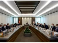 Aksaray heyetinden Bakanı Kurum'a ziyaret