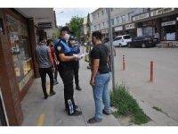 Polisten bilgilendirme çalışması