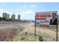 Hulusi Akar Bulvarı ile Sivas Caddesi arasındaki bağlantı yolunda çalışma başladı
