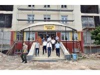Depremde hasar gören okulların yerine yenisi yapılıyor