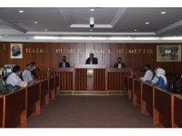İnegöl Belediye Başkanı Alper Taban mali hizmetler personeliyle buluştu