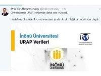 İnönü üniversitesi URAP'ta öne çıktı