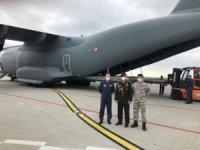 """MSB: """"#COVID19 ile mücadelede kullanılacak tıbbi yardım malzemelerini taşıyan uçağımız Sırbistan'a indi."""""""
