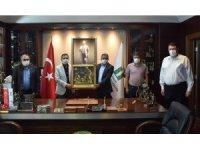 Maden işçileri sendikasından Ataç'a ziyaret