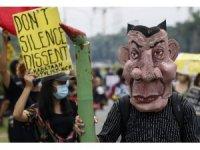Filipinler'de terörizmle mücadele yasası protestoların fitilini ateşledi