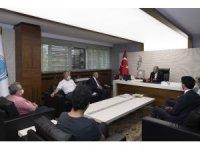 Başkan Büyükkılıç, Yahyalı Kaymakamı ve Belediye Başkanı ile birlikte Yahyalı Meclis Üyelerini kabul etti